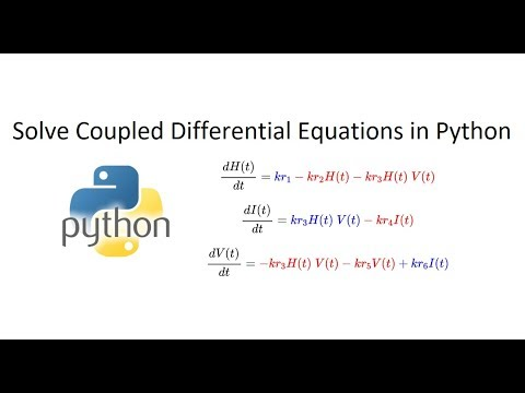 Simulate Coupled Differential Equations in Python
