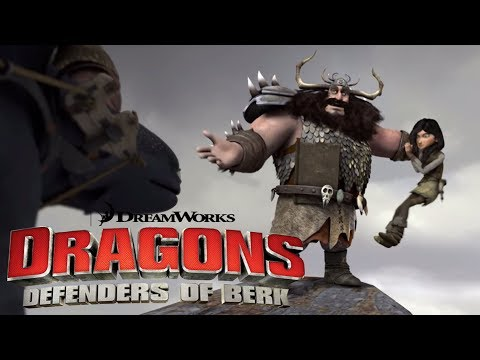 Dragons: Riders Of Berk | Can Hiccup Save Astrid And Heather's Parents From Alvin? | Universal Kids