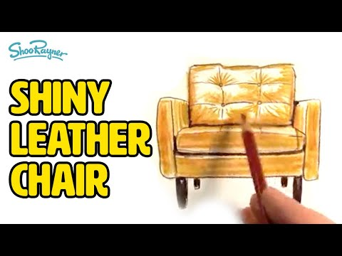 How To Draw A Shiny Leather Chair Shoo Rayner Author