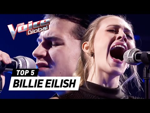 BEST BILLIE EILISH'S Lovely covers in The Voice