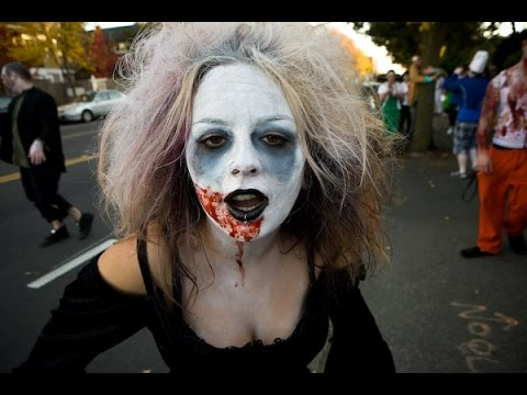 Trick or Treat It\'s Halloween (Zombies Come to Feed) Music Video!