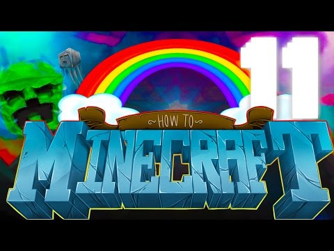 THE PRETTY PRANK! HOW TO MINECRAFT #11 (NEW 1.8 SMP)
