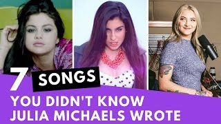 7 Songs You Didn't Know Were Written By Julia Michaels