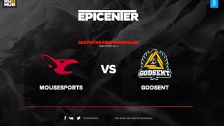 mouz vs GODSENT, game 1
