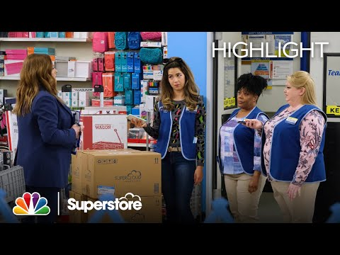 Dina Has Feelings for Garrett - Superstore