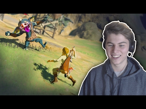 An Unorthodox Breath of the Wild Gameplay Session видео
