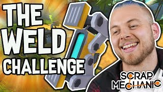 NEW MERCH - http://www.slipperycheese.com/Hello Everybody! Welcome back to another Scrap Mechanic Challenge! Today myself and AshDubh are left with lots of random items, we have to make a contraption out of random objects to complete the WELD CHALLENGE!!