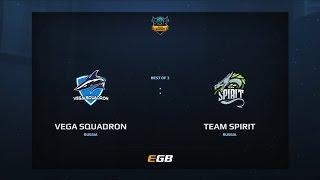 Vega Squadron vs Team Spirit, Game 1, Dota Summit 7, EU Pre-Qualifier