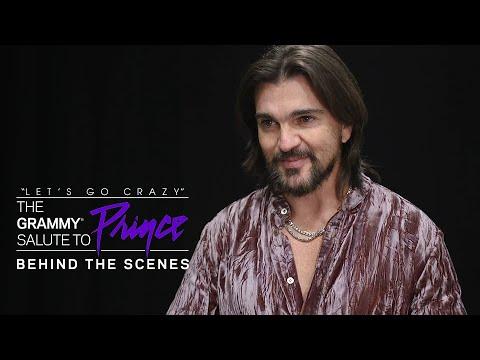 Juanes en el tributo a Prince