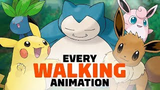 All 171 Pokemon Walking Animations in Let's Go Pikachu and Eevee