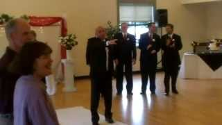 Video Bruno Mars song Marry You SURPRISE ENTRANCE!! Wedding Ceremony Entrance lip synced by Groom. MP3, 3GP, MP4, WEBM, AVI, FLV Juni 2018