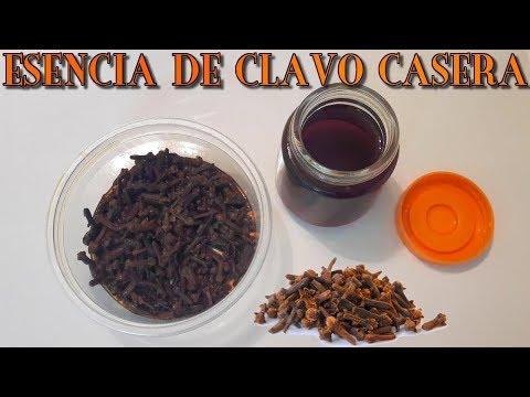 Videos caseros - COMO HACER ESENCIA DE CLAVO CASERA