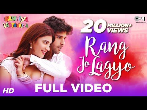 Rang Jo Lagyo (Special Edition) - Ramaiya Vastavaiya | Girish Kumar, Shruti Haasan | Atif & Shreya