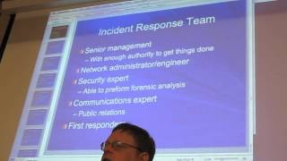 Sam's Network Security Class - Tues 05/07/2013 -Exploring Operational Security Pt1