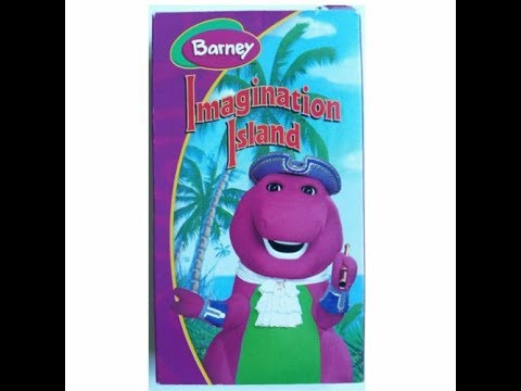 Barney's Imagination Island (REAL Hit Entertainment 2004 VHS Rip)