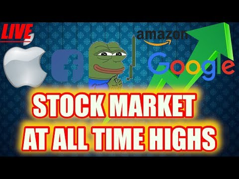 BITCOIN LIVE ❄❄ Stock Market Inches Higher ❄❄ Episode 805 - Crypto Technical Analysis