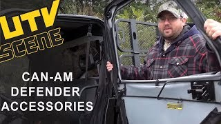 9. Can-Am Defender Accessories