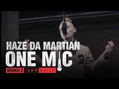 Haze Da Martian – One Mic Freestyle | GRM Daily