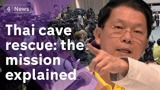 Video Thailand cave rescue press conference: the mission explained MP3, 3GP, MP4, WEBM, AVI, FLV Desember 2018