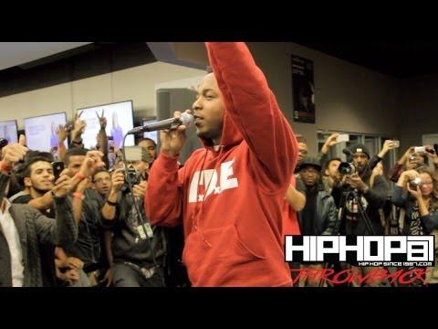"Kendrick Lamar Performs ""Backseat Freestyle"" Best Buy (Throwback Video)"
