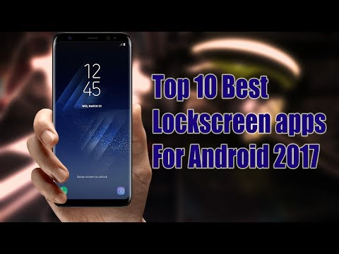 Top 10 Best lockscreen apps for Android 2017