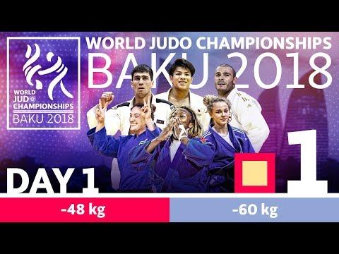 World Judo Championships 2018 Day 1 - Elimination
