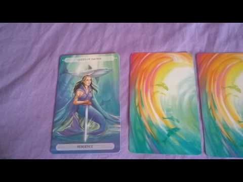 How Does He/She Feel Reading *Using The Oceanic Tarot Deck