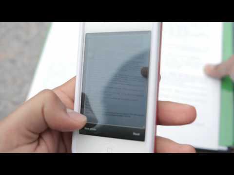 Video of TextGrabber + Translator