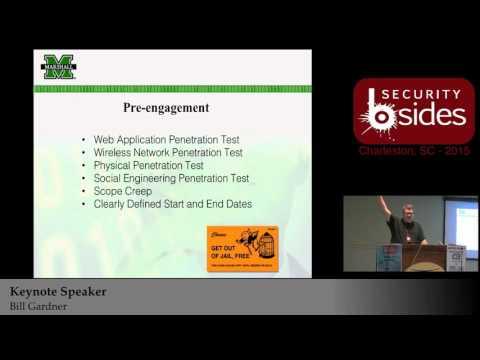 (Keynote Speaker) InfoSec(Cyber Security) We're Doing It Wrong - Bill Gardner