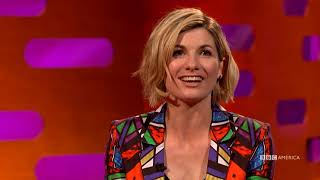 How Jodie Whittaker Found Out She Was Doctor Who   The Graham Norton Show   BBC America