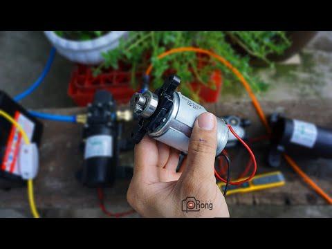 ❓❓❓ Có gì bên trong máy bơm nước áp lực 12v mini ??? (zalo/phone: 0898399925)