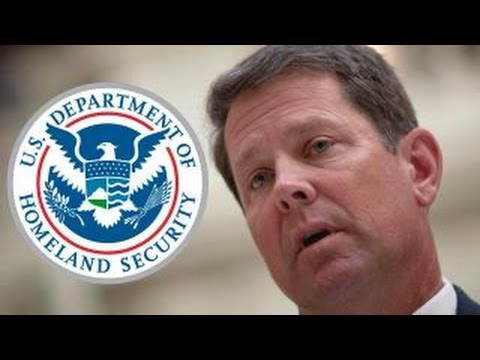 Ga. secretary of state demands answers from DHS over hack (видео)