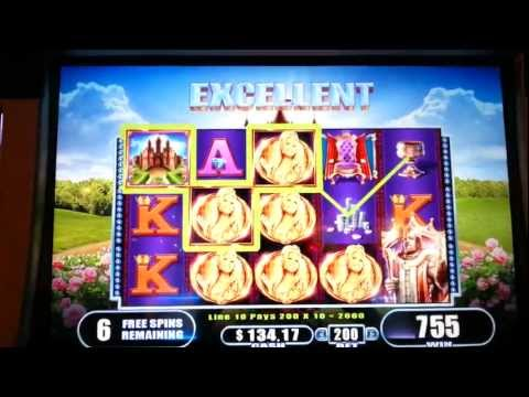 King Midas Big Win Bonus Max Bet WMS Slot Machine