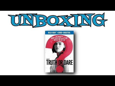 Truth Or Dare Blu-Ray Unboxing