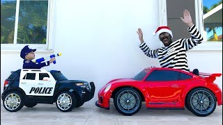 Video POLICE BABY Playing with TOYS and Pretend Play with Police Cars MP3, 3GP, MP4, WEBM, AVI, FLV Mei 2019