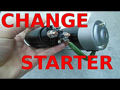How to Replace a STARTER on a GM 3.1 Liter V6 Engine Buick Century Chevy Monte Carlo Grand Am 3.1 L