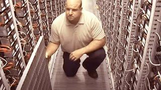 Google container data center tour