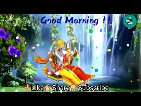 good morning whatsapp status video song download