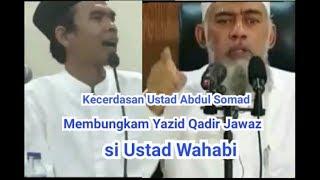 Video Kecerdasan Ustad Abdul Somad Membungkam Yazid Qadir Jawaz Si Ustad Wahabi MP3, 3GP, MP4, WEBM, AVI, FLV Februari 2019