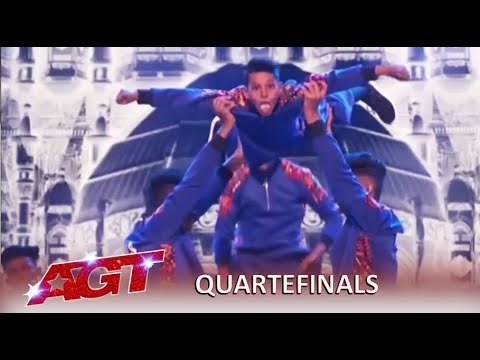 V Unbeatable: Indian Dance Group SHOCK America Again! | America's Got Talent 2019