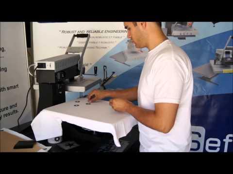 Automatický termotransferový lis ROTEX AUTO SWING X