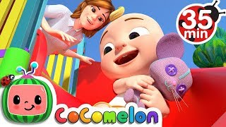 Video Yes Yes Playground Song | +More Nursery Rhymes & Kids Songs - CoCoMelon MP3, 3GP, MP4, WEBM, AVI, FLV Januari 2019