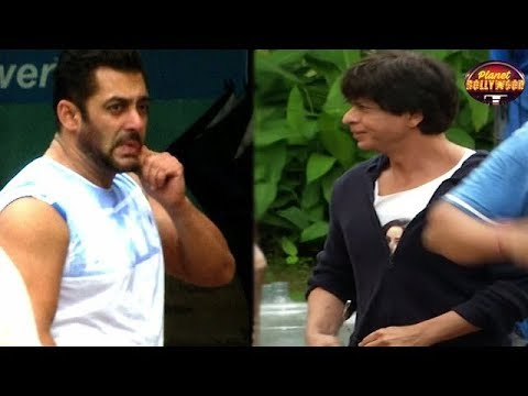Shahrukh Khan On How Easily Salman Khan Said Yes F
