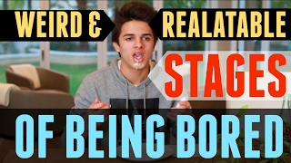 Weird And Relatable Stages of Being Bored  Brent Rivera I get bored way too often so I decided to make this video about being ...