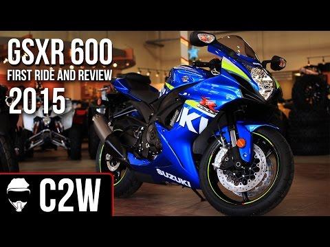 2015 Suzuki GSXR 600 - First Ride and Review