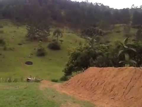 Rampando Duplo final Pista de downhill do Brasileiro em Benedito novo