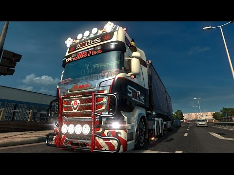 Scania R SCS Tuning Beta 2 by Zeeuwse Trucker
