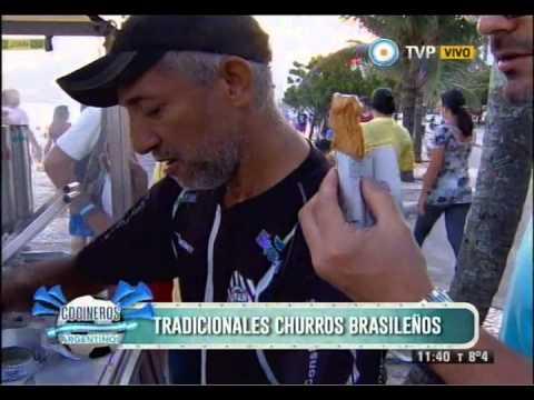 Juan y Juanito degustan platos brasileros