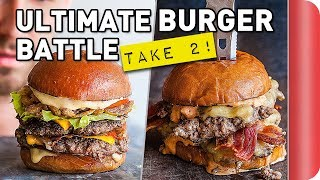 THE ULTIMATE BURGER BATTLE - TAKE 2!! by SORTEDfood