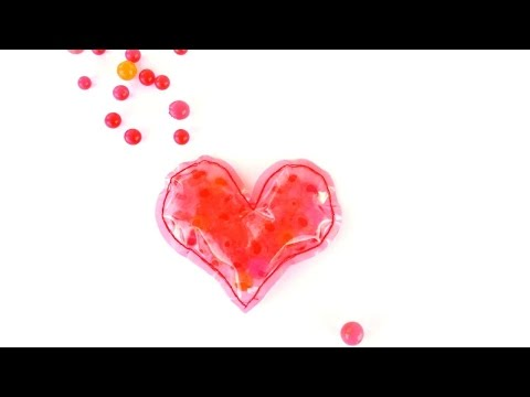 fai-da-te (diy), cuore antistress - creazioni guidecentral